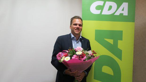 Björn Derksen gekozen tot lijsttrekker CDA