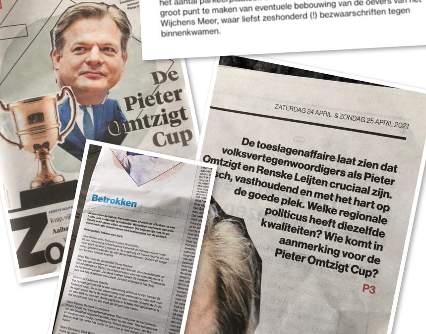 Wijchens raadslid Björn Derksen genomineerd voor Pieter Omtzigt Cup
