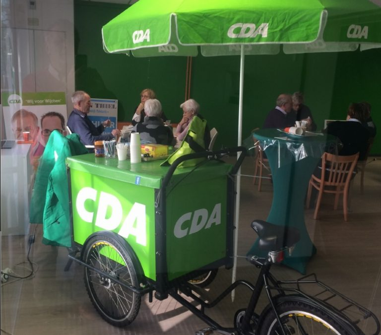 Volop activiteiten in CDA-campagnewinkel