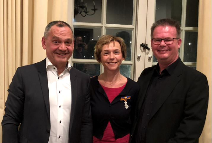 Elaine, Mark en Martin bedankt!