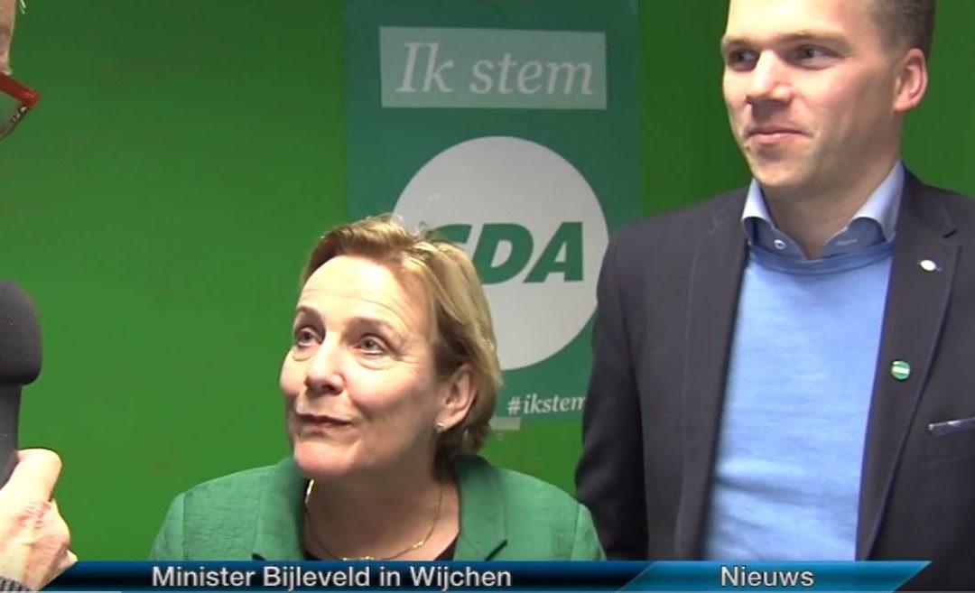 Minister Bijleveld bij CDA Wijchen